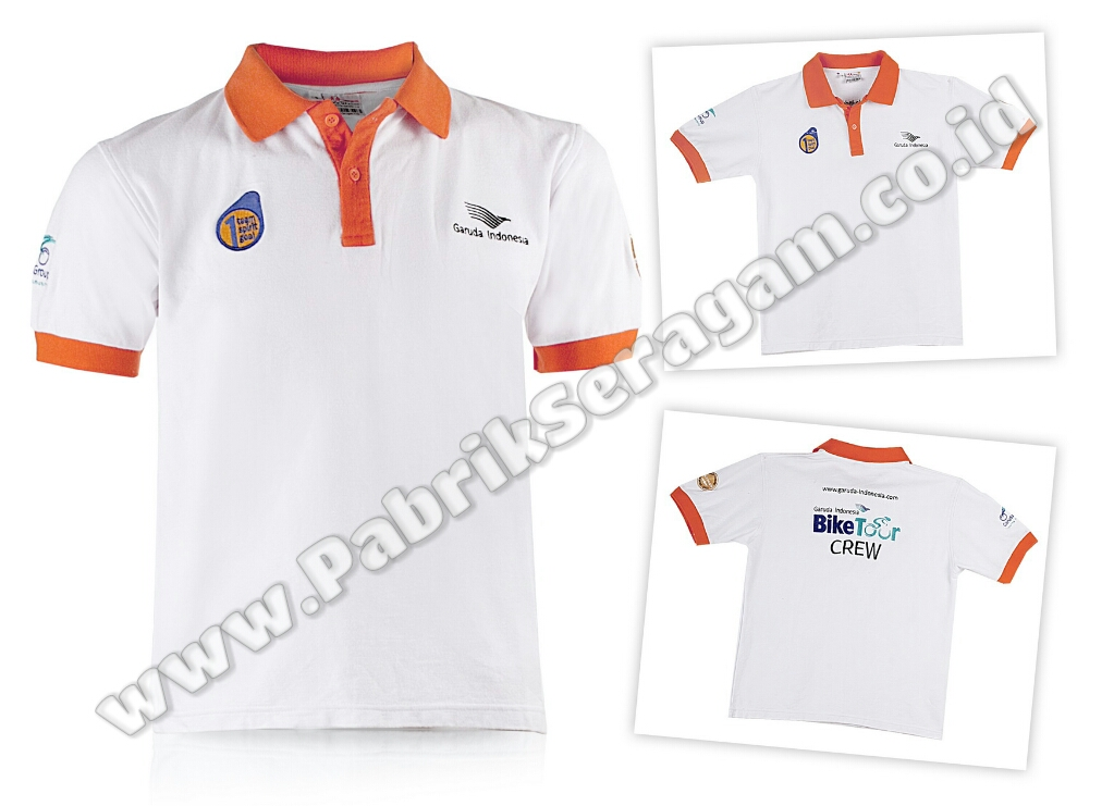 P29 - Polo Shirt Garuda Indonesia